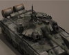 T-90 Army Tank Detailed