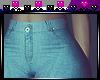 [N] Blue wide pants