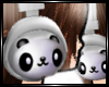 ~<3 Panda Headphones ~<3
