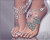 Talia Feet & Jewelry Tat