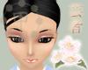 Ichimame eyebrows Black