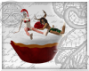 }T{ Christmas Torte
