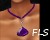 FLS Teardrop Amethyst