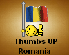 Thumbs up Romania!