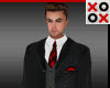 Santino Full Suit Red
