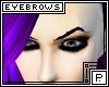 *P Purple Eyebrows