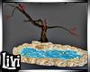 Tree pond + koi Anim