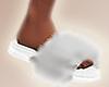 Puma Slippers White