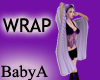 ~BA Purple Fluffy Wrap