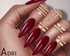 ~A: Red Nails