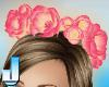 Lush RosePearl Wreath