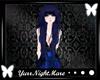 Yurr Navy Blu Long Hair