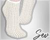 *S Cream Socks