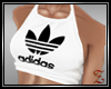 !Z! Crop White Adidas