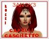 HAIR  CASCHETTO RED