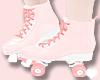❥ Peach Roller Skates