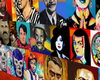 . Mexico Pop Art Collage