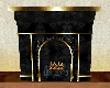 BlacknGold Fire Place