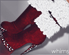 Santa Fur Boots