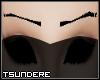 Thin Black Emo Eyebrows