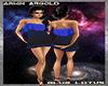 Blue Lotus Club Dress