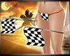 Race Car Checkered Flags