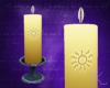 Altar Candle, God