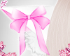 d. cat bow ears pink