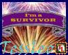I'm a survivor banner