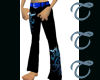 TTT Black n Blues Pants