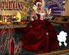 Victorian Crimson Gown