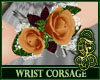 Wrist Corsage Orange