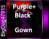 [BD]Purple+BlackGown