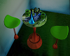 Green club table