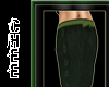 *Chee: Green Long Skirt