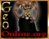 Geo FskullsG Gown