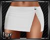 *JJ* Short slit skirt