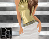 BB Gold n White Dress