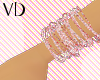 *VD* Pink&Light BanglesL