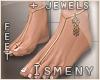 [Is] Flat Feet + Jewels