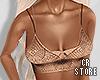 $ Transparent Nude Crop