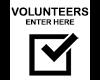 Volunteer Entry Sign