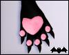 KIKI|Pink&BlkCatPaws