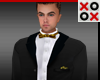 Enzo Full Suit Gold Bow