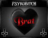 PB Spin heart Brat