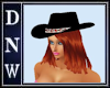 Black Hat & Red Hair