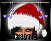 E|X SANTA HAT