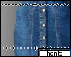 °*+ high skirt denim