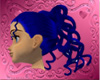 Medusa in Midnight Blue