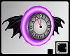 ♠ Bat Diner Clock